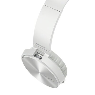 Наушники Sony MDR-XB450 White 3