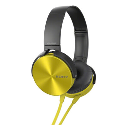 Наушники Sony MDR-XB450 Yellow 1