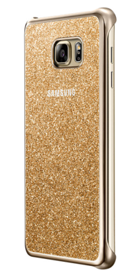 Чохол Samsung Glitter Cover EF-XN920CFEGRU Gold для Galaxy Note 5 3