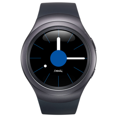 Смарт-часы Samsung Gear S2 SM-R7200 Black 2