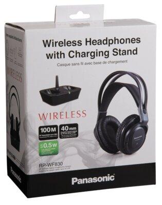 Навушники Panasonic RP-WF830E Black 4