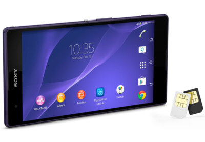 Смартфон Sony Xperia T2 Ultra Dual D5322 Black 2