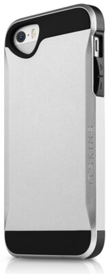 Чохол iTSkins Evolution Silver для iPhone 5/5S 1