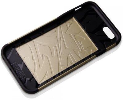 Чехол iTSkins Evolution Gold для iPhone 6 2