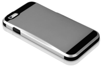 Чохол iTSkins Evolution Silver для iPhone 6 5
