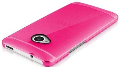 Чехол iTSkins The new Ghost Pink для HTC One (M7) 3