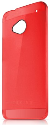 Чехол iTSkins The new Ghost Red для HTC One (M7) 1