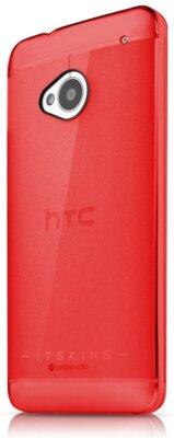 Чехол iTSkins The new Ghost Red для HTC One (M7) 2