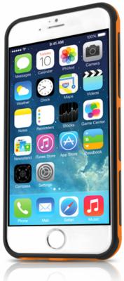 Чехол-накладка ITSKINS Venum Reloaded for iPhone 6 Black/Orange 2