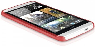 Чехол-накладка ITSKINS ZERO.3 for HTC One (M7) Red 3
