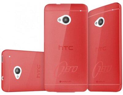 Чехол-накладка ITSKINS ZERO.3 for HTC One (M7) Red 4