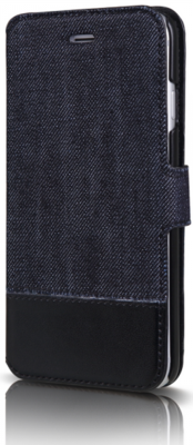 Чехол iTSkins Angel Black/Blue для iPhone 6 Plus 1