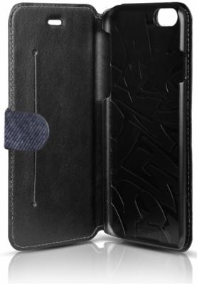 Чехол iTSkins Angel Black/Blue для iPhone 6 Plus 2