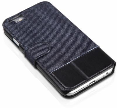 Чехол iTSkins Angel Black/Blue для iPhone 6 Plus 3