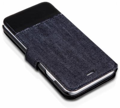 Чехол iTSkins Angel Black/Blue для iPhone 6 Plus 4