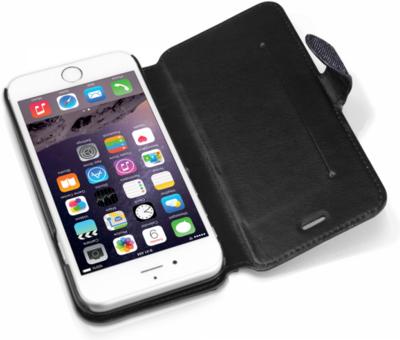 Чехол iTSkins Angel Black/Blue для iPhone 6 Plus 5