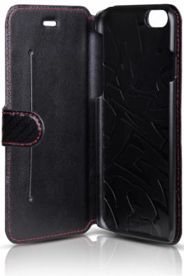 Чохол iTSkins Angel Black/Carbon для iPhone 6 Plus 3