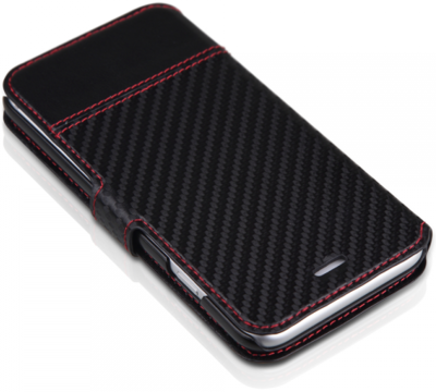 Чохол iTSkins Angel Black/Carbon для iPhone 6 Plus 4