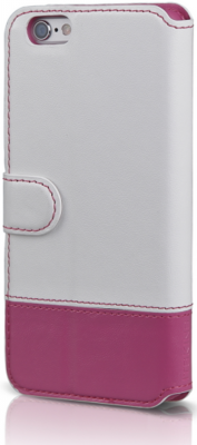 Чохол iTSkins Angel White/Pink для iPhone 6 Plus 1