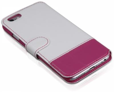 Чохол iTSkins Angel White/Pink для iPhone 6 Plus 4