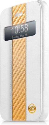 Чохол iTSkins Visionary Drift White/Gold для iPhone 5/5S 1