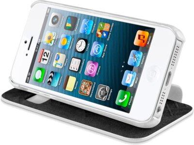 Чохол iTSkins Visionary Drift White/Gold для iPhone 5/5S 5