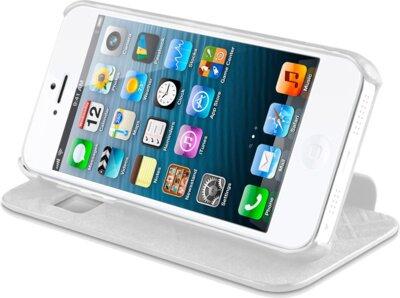 Чохол iTSkins Visionary White/Gold для iPhone 5/5S 5