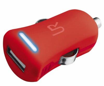 Зарядний пристрій Trust Urban Revolt Smart Car Charger Red 1