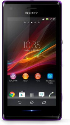 Смартфон Sony Xperia M Dual C2005 Purple 1