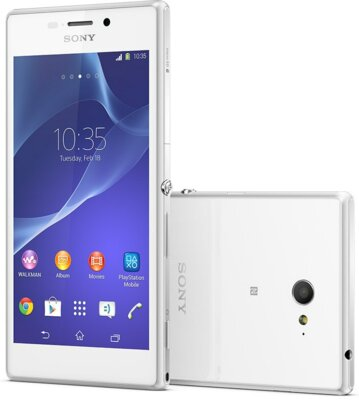 Смартфон Sony Xperia M2 D2305 White 1