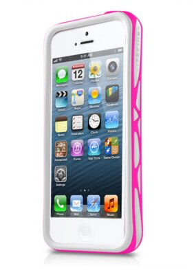Чохол ITSkins Venum for iPhone 5/5S White-Pink 1