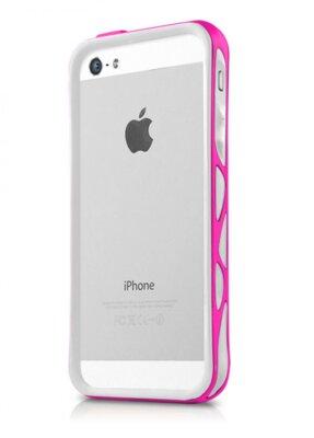 Чохол ITSkins Venum for iPhone 5/5S White-Pink 2
