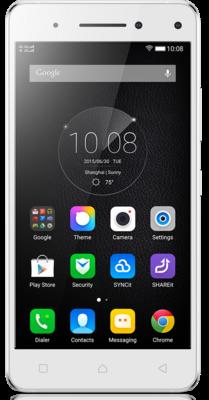 Смартфон Lenovo VIBE S1 White 1