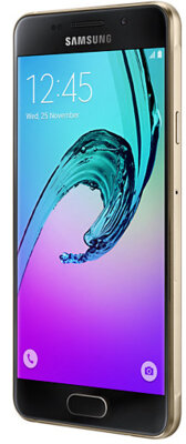 Смартфон Samsung Galaxy A3 (2016) SM-A310F Gold 2
