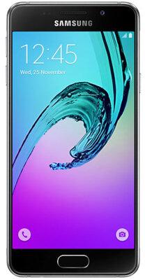 Смартфон Samsung Galaxy A3 (2016)  SM-A310F Black 1