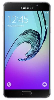 Смартфон Samsung Galaxy A7 (2016)  SM-A710F Black 1