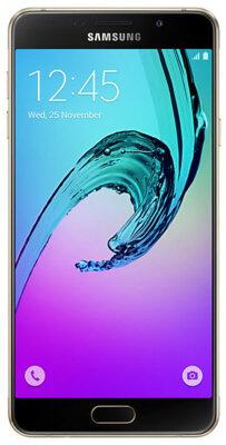 Смартфон Samsung Galaxy A7 (2016)  SM-A710F Gold 1