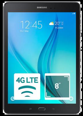Планшет Samsung Galaxy Tab A 8.0 SM-T355 LTE 16GB Smoky Titanium 1