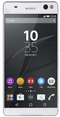 Смартфон Sony Xperia C5 Dual E5533 White 1