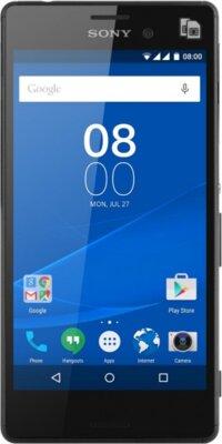 Смартфон Sony Xperia M4 Aqua E2312 Black 1