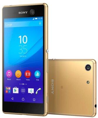 Смартфон Sony Xperia M5 Dual LTE E5633 Gold 2