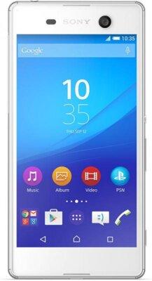 Смартфон Sony Xperia M5 Dual LTE E5633 White 1