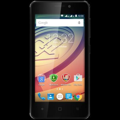 Смартфон Prestigio MultiPhone 3457 Duo Wize F3 Black 1