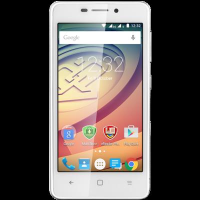 Смартфон Prestigio MultiPhone 3457 Duo Wize F3 White 1