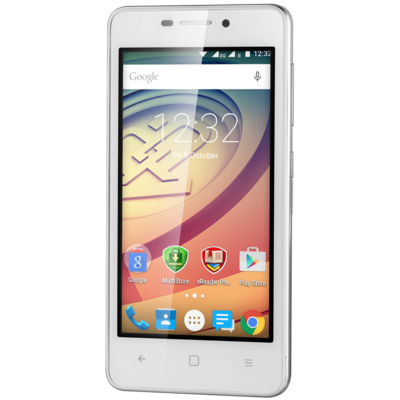 Смартфон Prestigio MultiPhone 3457 Duo Wize F3 White 2