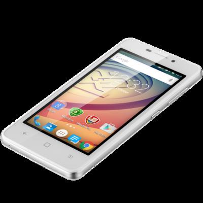 Смартфон Prestigio MultiPhone 3457 Duo Wize F3 White 3