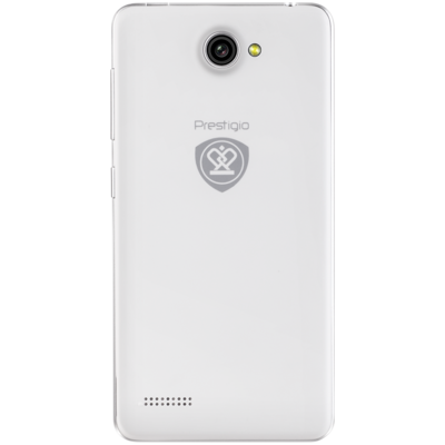 Смартфон Prestigio MultiPhone 3457 Duo Wize F3 White 5