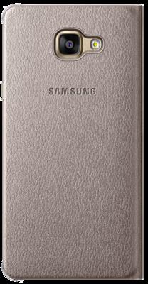 Чохол Samsung Flip Wallet EF-WA710PFEGRU Gold для Galaxy A7 (2016) 4