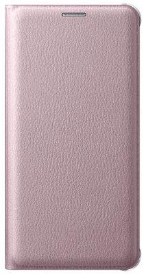 Чехол Samsung Flip Wallet EF-WA710PZEGRU Pink Gold для Galaxy A7 (2016) 1