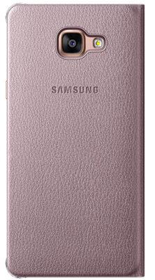 Чехол Samsung Flip Wallet EF-WA710PZEGRU Pink Gold для Galaxy A7 (2016) 4